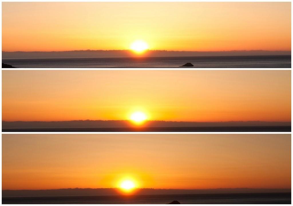 levé de soleil en corse