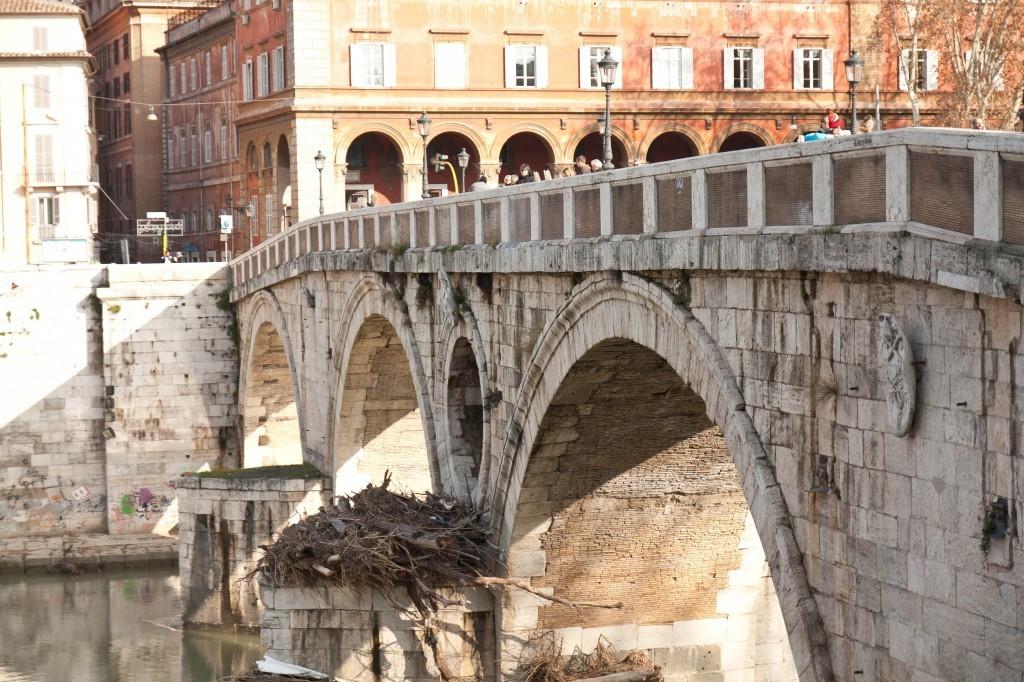 Le quartier Trastevere à Rome - le plus beau quartier de Rome - Italie