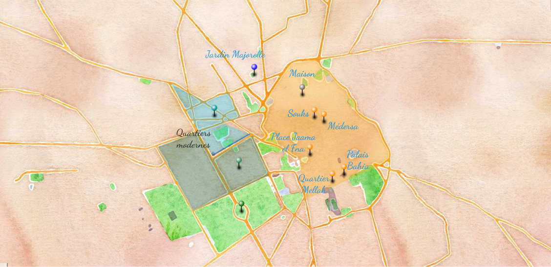 Découvrir la ville de Marrakech - Maroc : toutes les informations