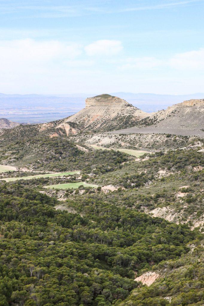 Desert des bardenas Espagne - Blanca negra