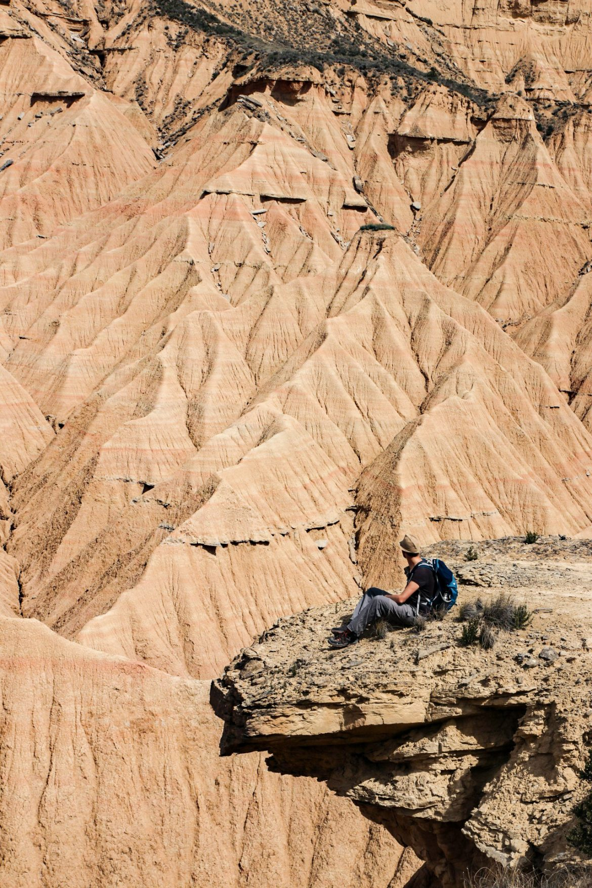 La plus belle randonnée du desert des Bardenas, la Piskerra