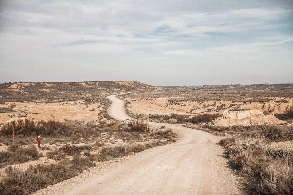 Le désert Bardenas Reales : la Bardena Blanca