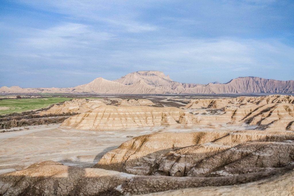 Le désert espagnol : la Bardena Blanca