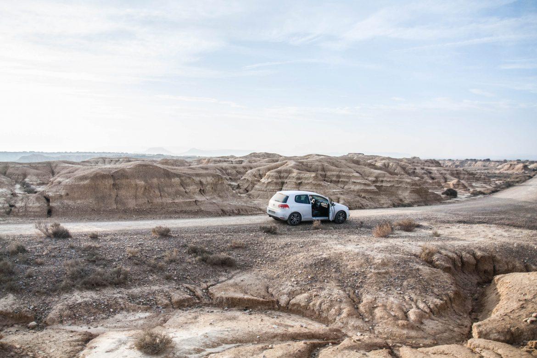 Désert bardenas reales Espagne - Roadtrip