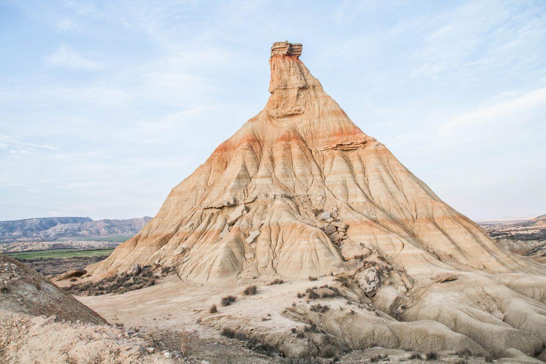 Desert des Bardenas Reales - Castil de Tierra- La cheminée Fée Castil