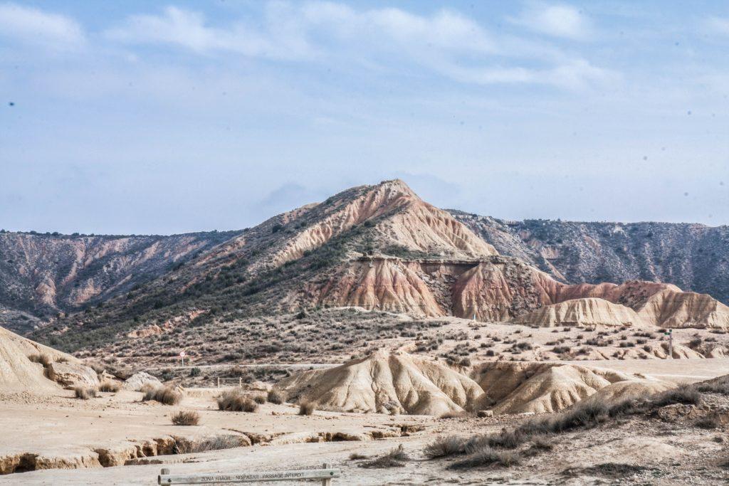 Road trip désert Bardenas Espagne