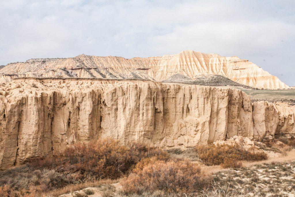 Canyon du désert des Bardenas Reales