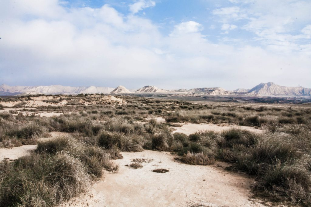 Le far ouest desert des bardenas