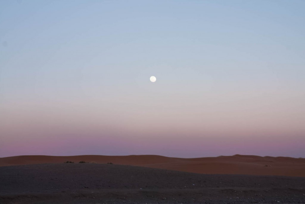 Désert de Merzouga - Sahara - Maroc