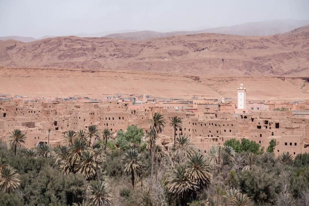 Visiter palmeraie de Tinghir Maroc
