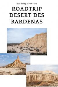 roadtrip desert bardenas Espagne