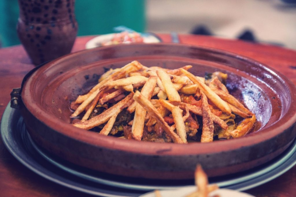 Anzel, village berbère dans l'anti-Atlas Maroc