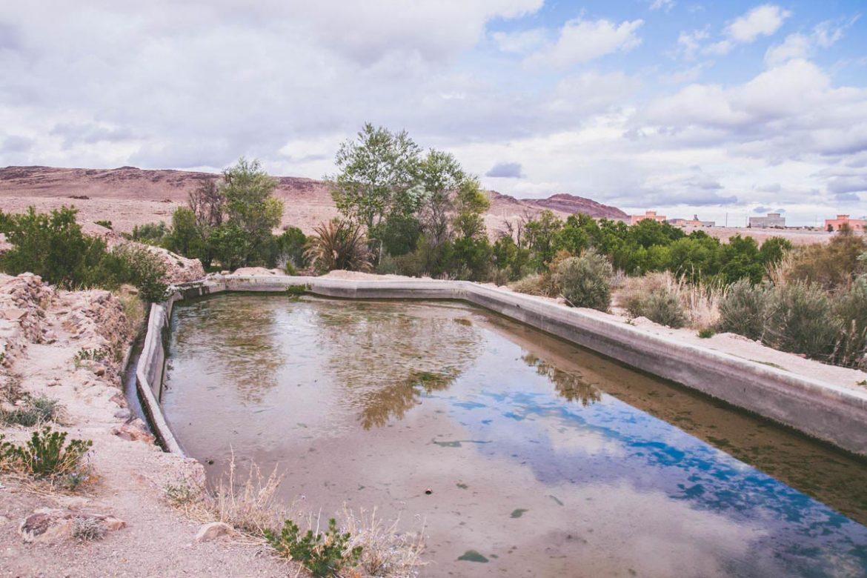 Anzel, Village berbère marocain dans la région de ouarzazate