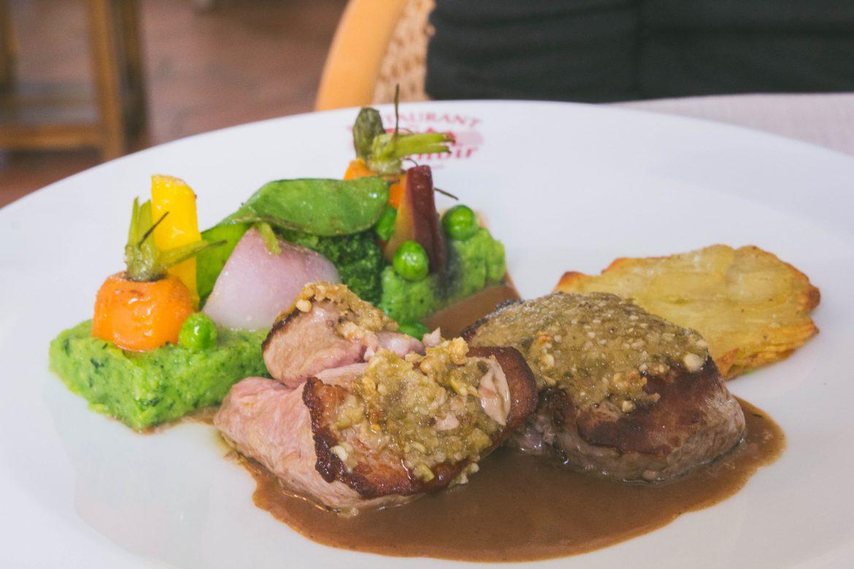 Bon restaurant presqu'îlede Rhyus : Le manoir de Kerbot