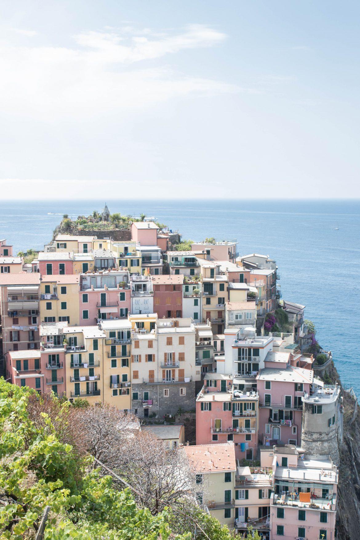 Manorola cinque terre Italie