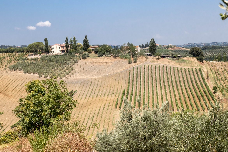 payasage Toscane du Sud