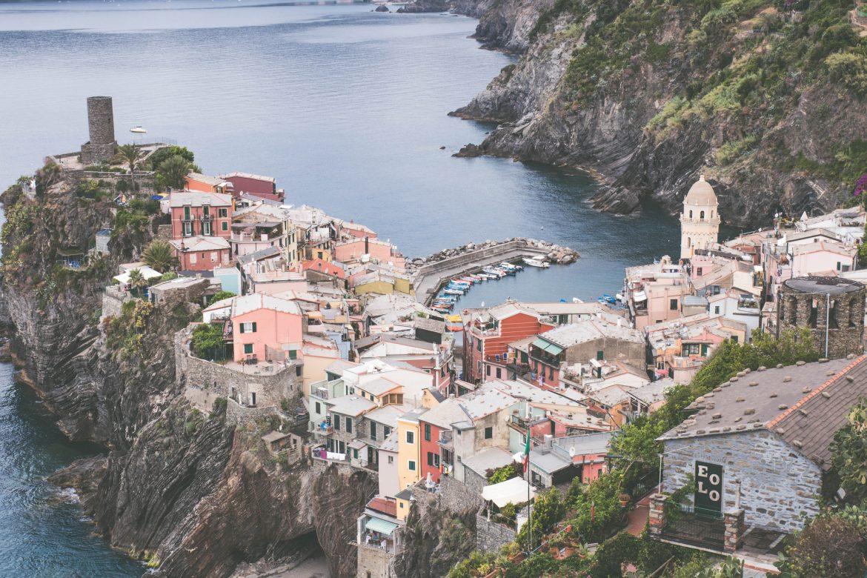 Le village de Vernazza, Cinque Terre