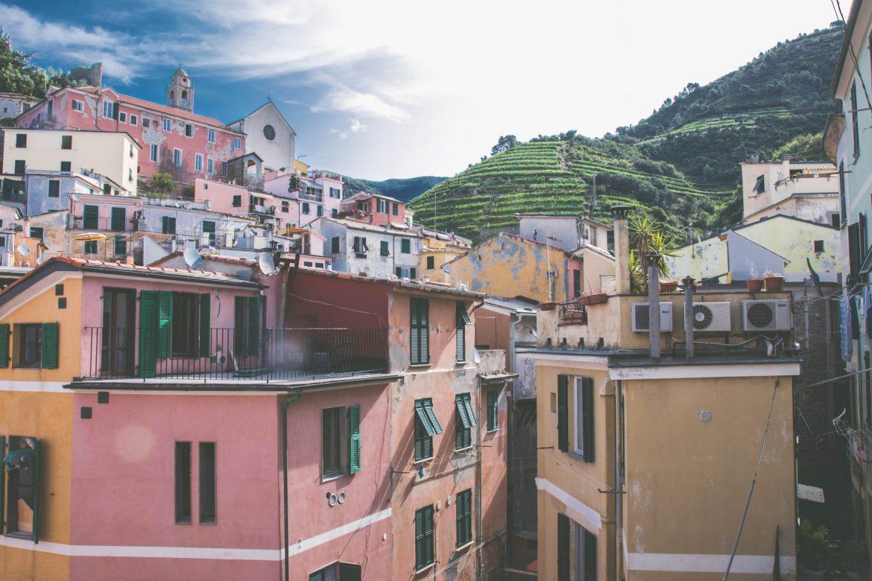 Vernazza, village des Cinque Terre en Italie
