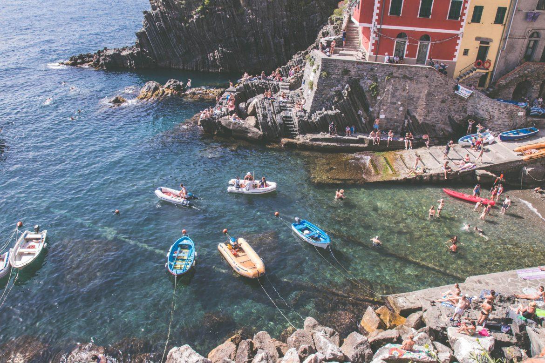La belle endormie : Riomaggiore, Cinque Terre