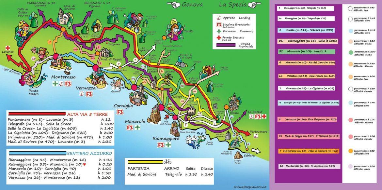 Cinque terre visiter les cinq villages en italie guide complet - Levanto italie office du tourisme ...