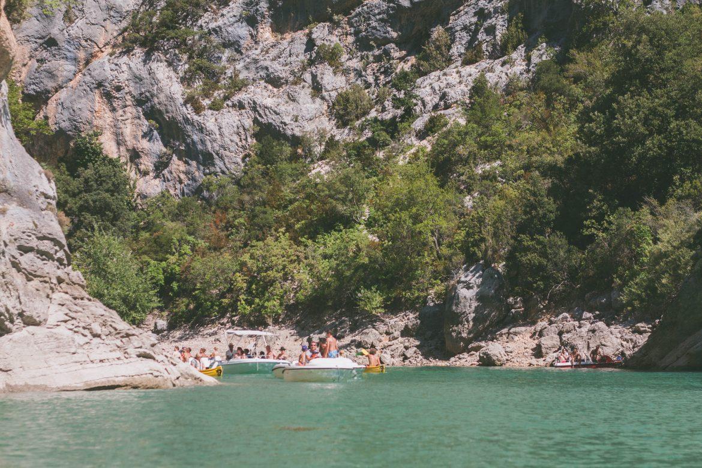 Canoé Gorges du Verdon - Hautes Gorges et basses Gorges
