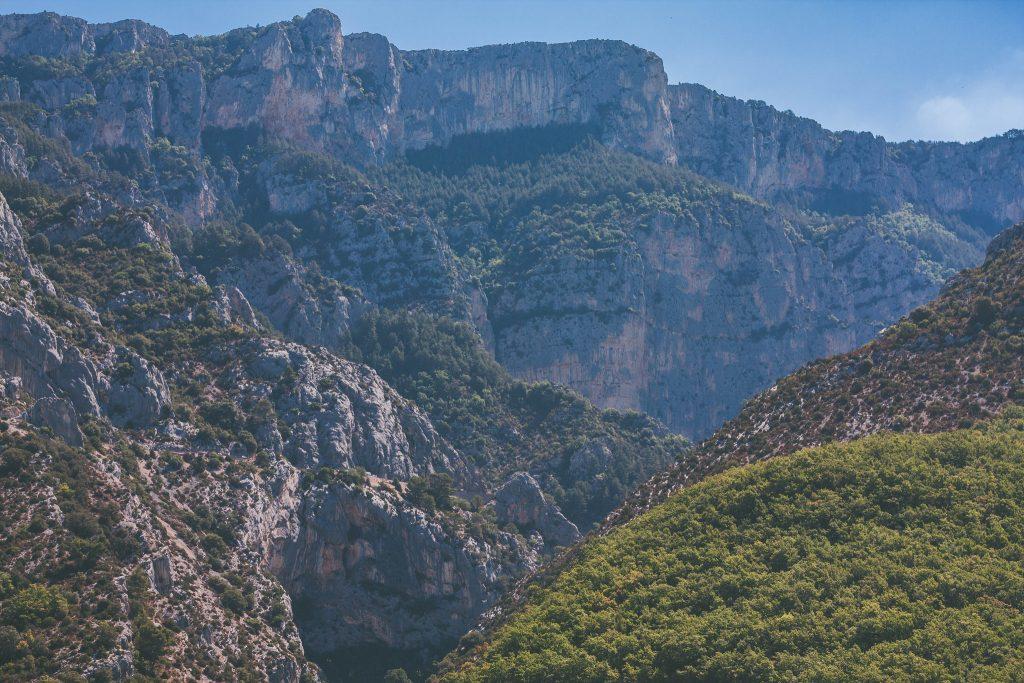 Route des crête point sublime Gorges du Verdon