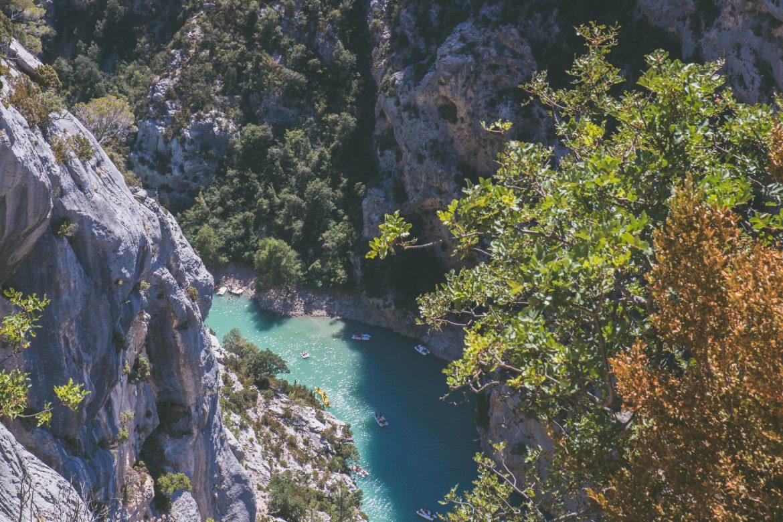 Route des crêtes et canoé dans les Gorges du Verdon