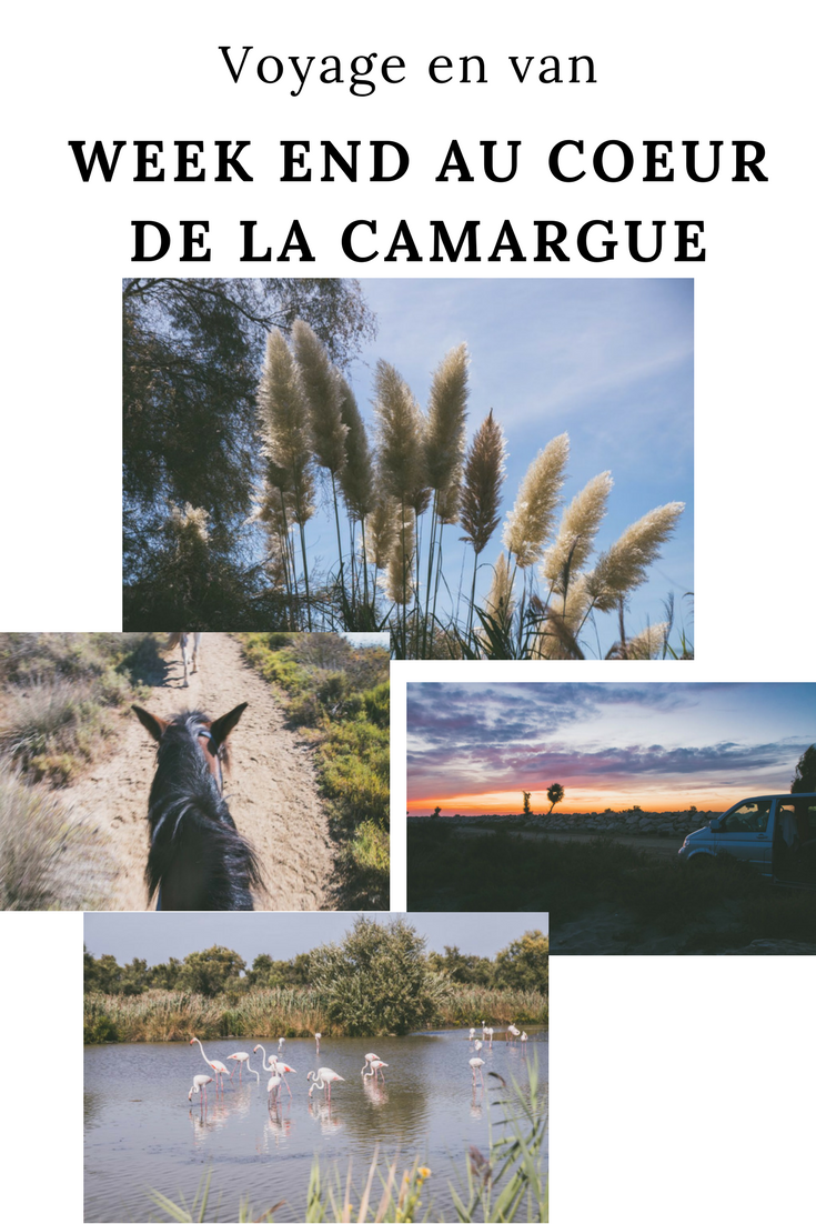 week end en van en Camargue