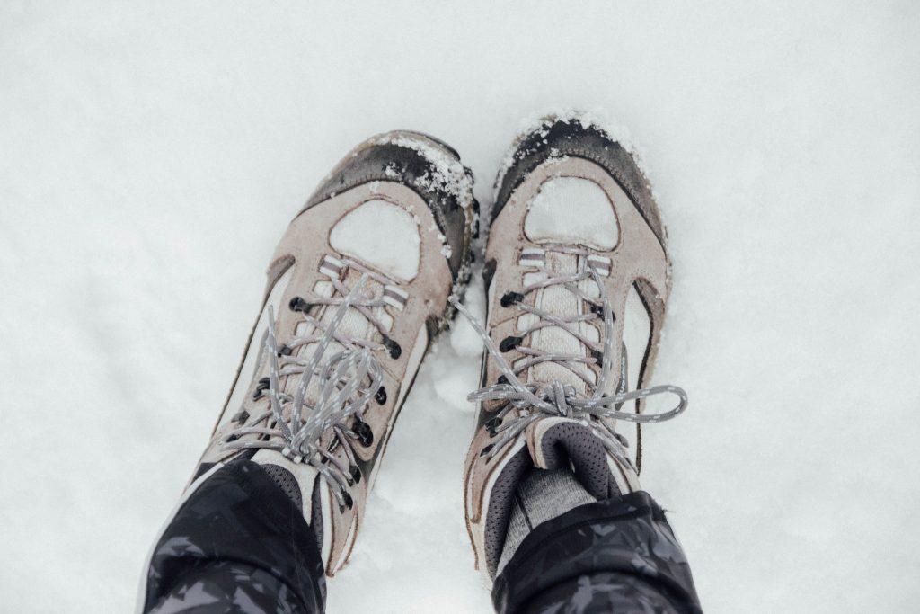 Randonnée au lac de Bareilles - Bordères en hiver