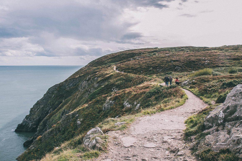 sentier randonnée Howth (Dubln)