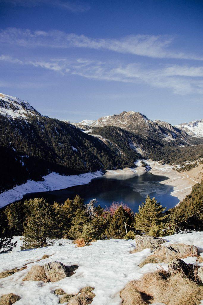 Randonnée raquette lac de Loule