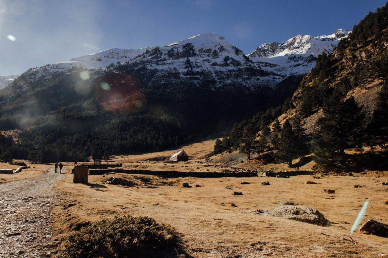 Randonnee pyrenees vallee Rioumajou