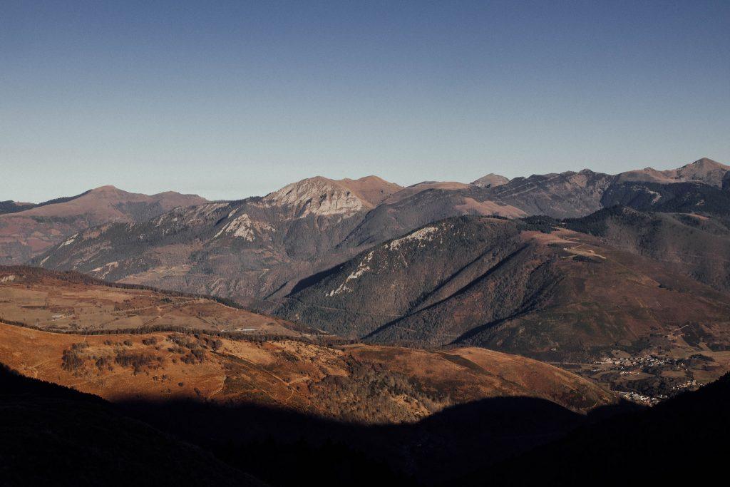 Randonnee pyrenees hourquette Ancizan
