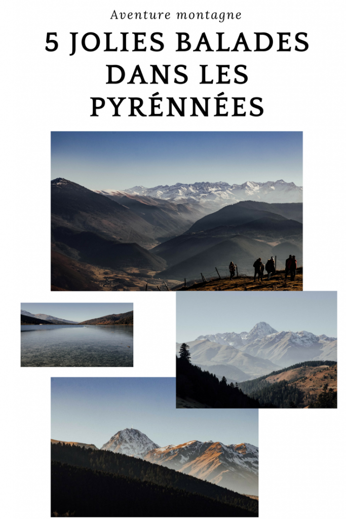 5 jolies balades (Facile) dans les Pyrénées