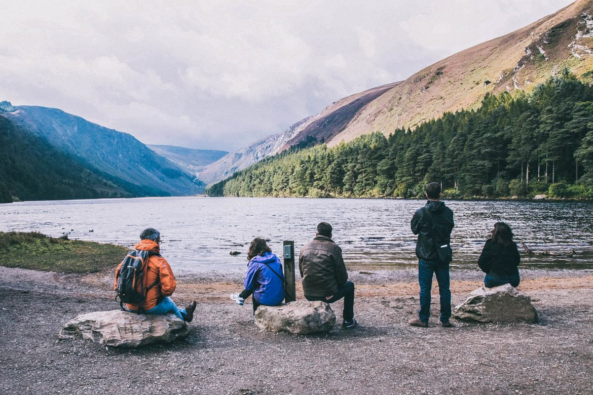 Upper lake- Glendalouth -Wicklow moutains (Le parc national des Monts de Wicklow)