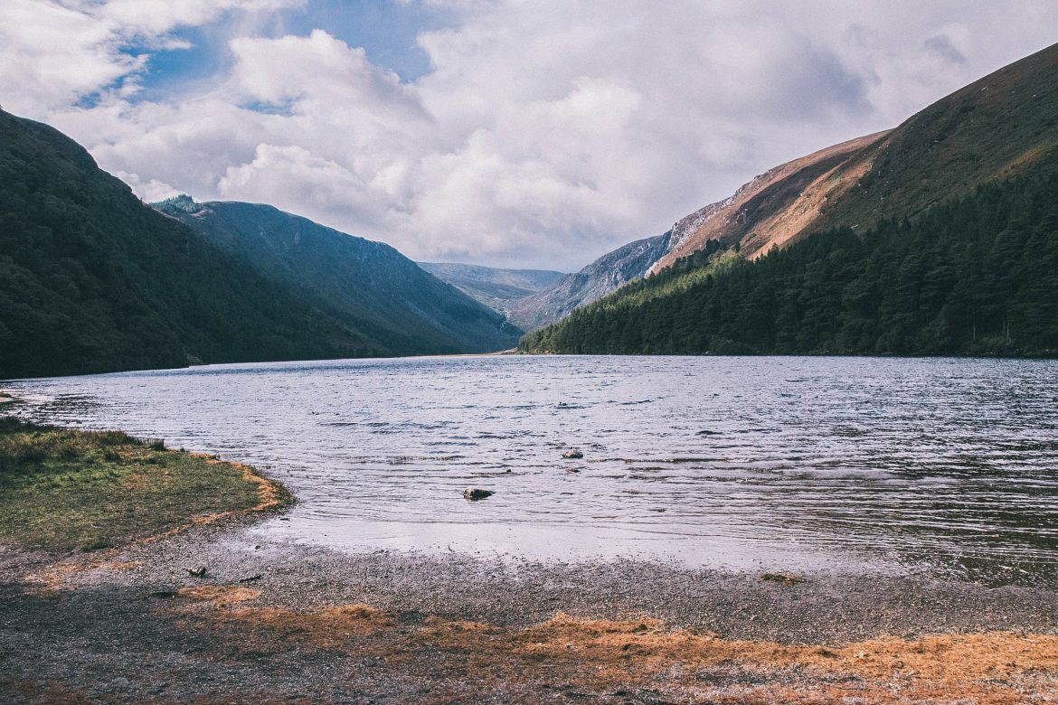 Upper lake -Wicklow moutains (Le parc national des Monts de Wicklow)