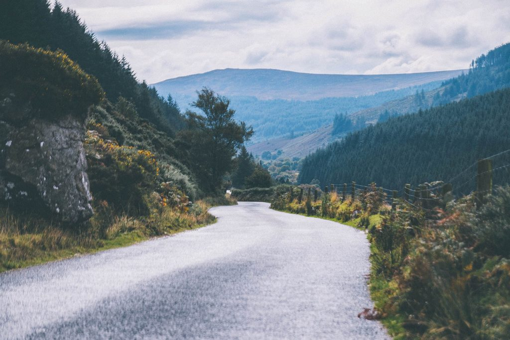 Wicklow Moutains National Park-Irlande
