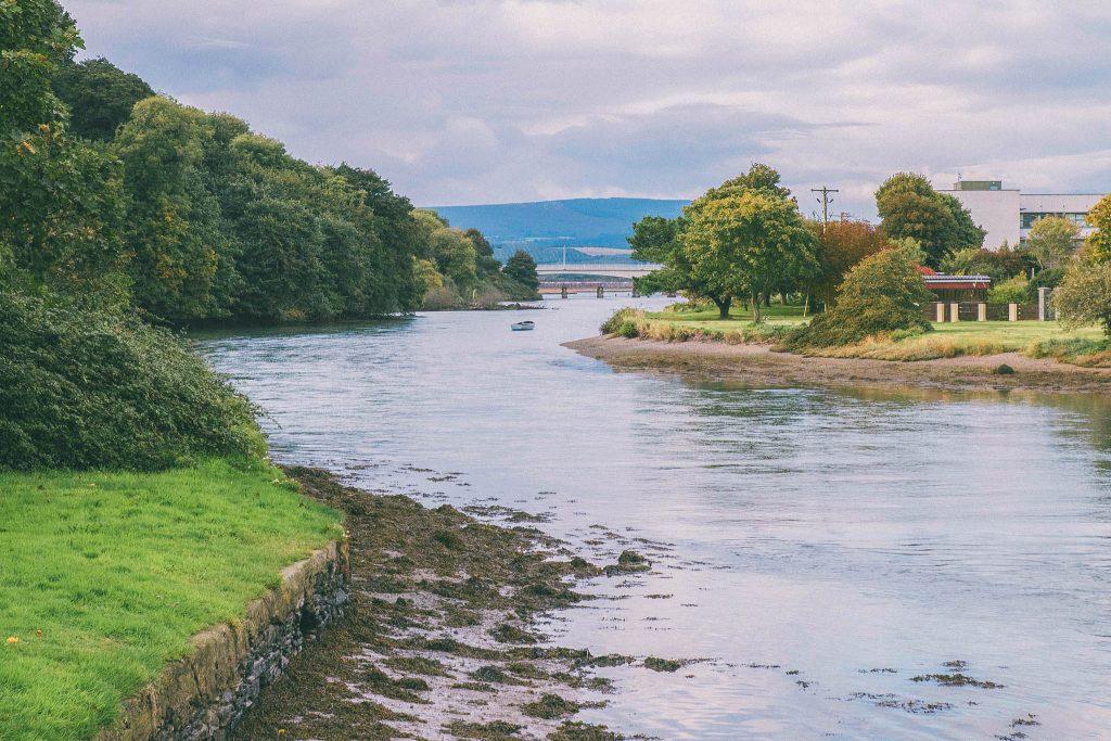 Le comté de Wiklow en Irlande