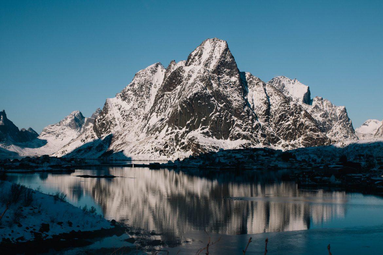 Reine - îles les Lofoten en Hiver - Norvége du nord