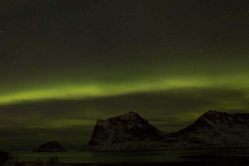 Comment voir une aurore boréale dans les Lofoten