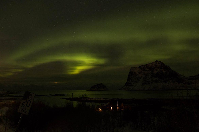 Aurore boréale Norvège du nord
