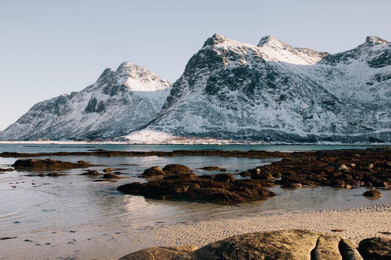 Les îles Lofoten en Hiver - Norvége du nord