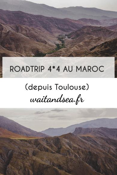 Carnet de voyage : 1er episomde de notre Roadrip en 4x4 aménagé jusqu'au Maroc. Driection le Sahara !