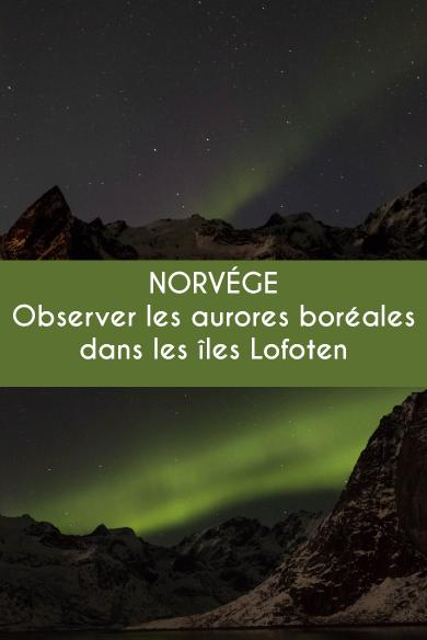 Norvége : où et quand voir des aurores boréales dans les îles Lofoten