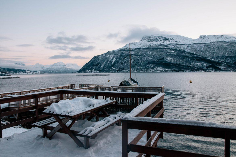 Location chalet Grovfjord, Lofoten, Hiver