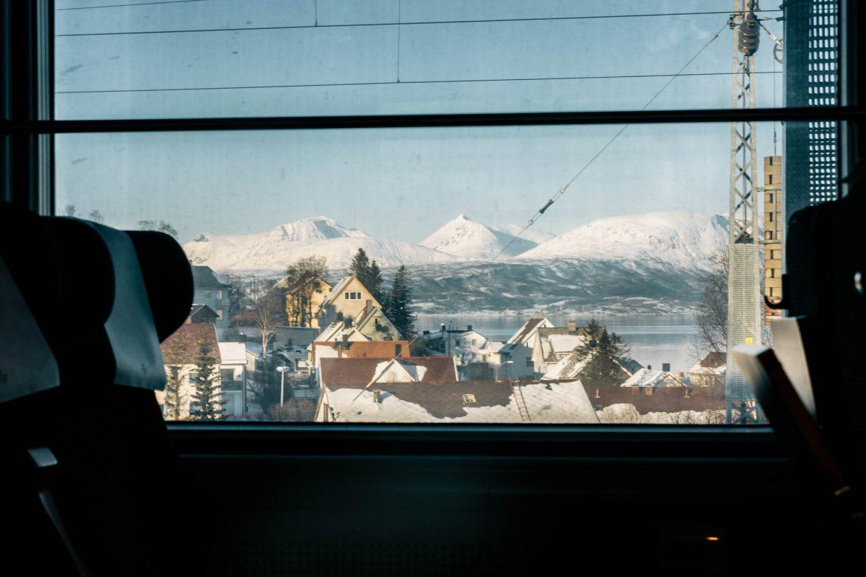 Train Narvik jusqu'à Riksgränsen