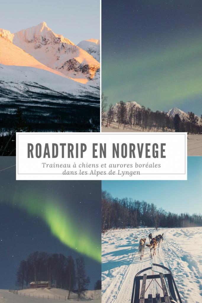 Itineraire en Norvege du Nord en Hiver