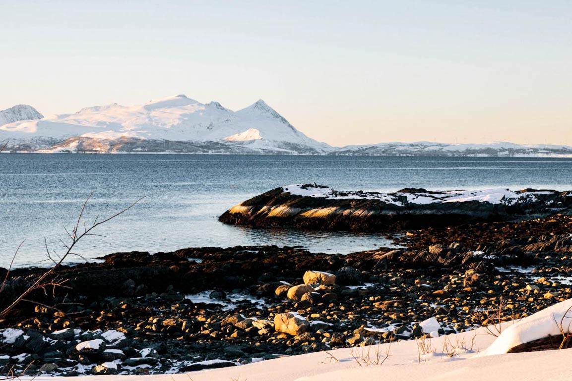 Itinéraire en Norvège du nord : Alpes de Lyngen