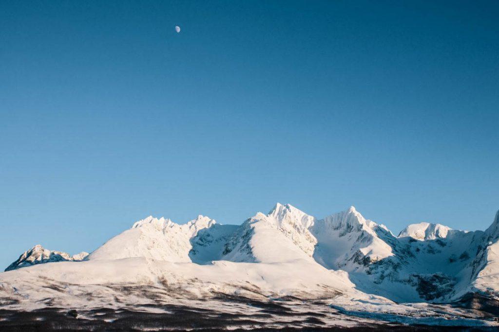 Alpes de Lyngen Norvège du Nord