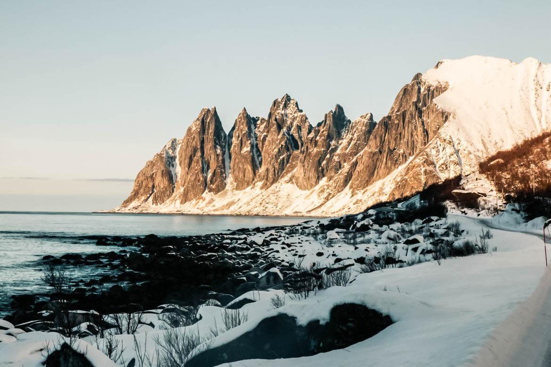 Itinéraire en Norvège du nord : île de Senja